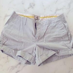Cuffed Gray Shorts